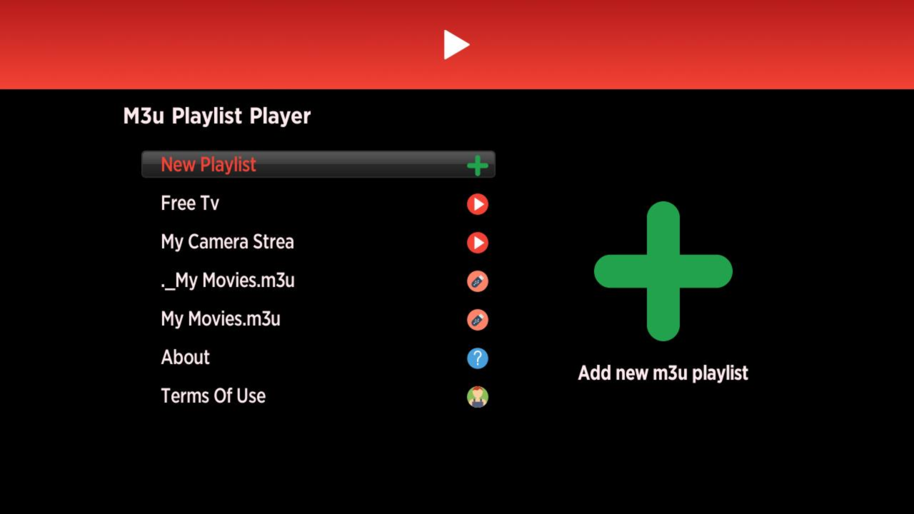Installera Playlist Player på Roku 1