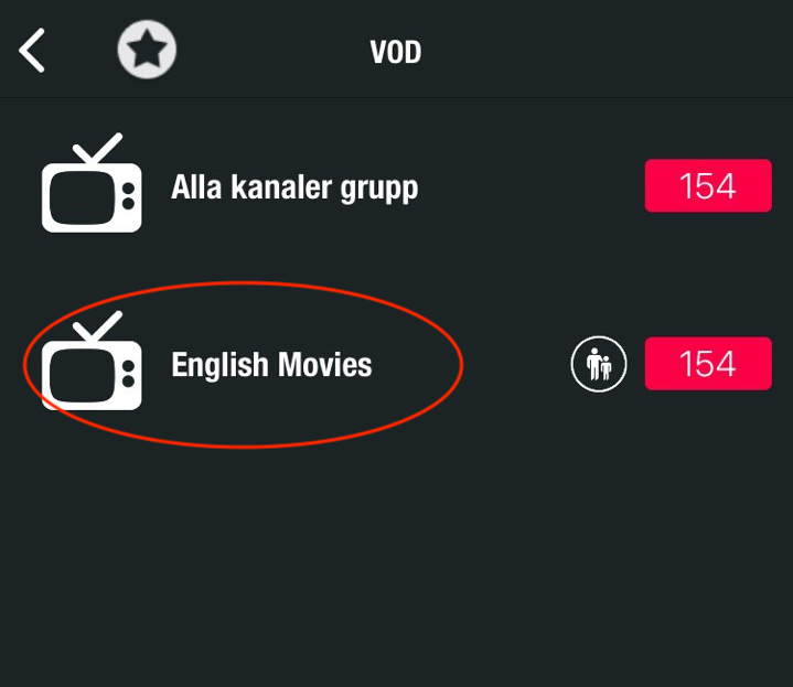 Titta på VOD på GSE Smart IPTV appen